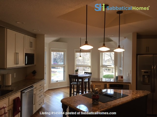Lovely, wooded home convenient to Duke, UNC Home Rental in Durham, North Carolina, United States 2