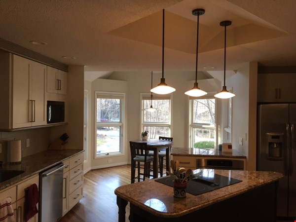 Lovely, wooded home convenient to Duke, UNC Home Rental in Durham 2 - thumbnail