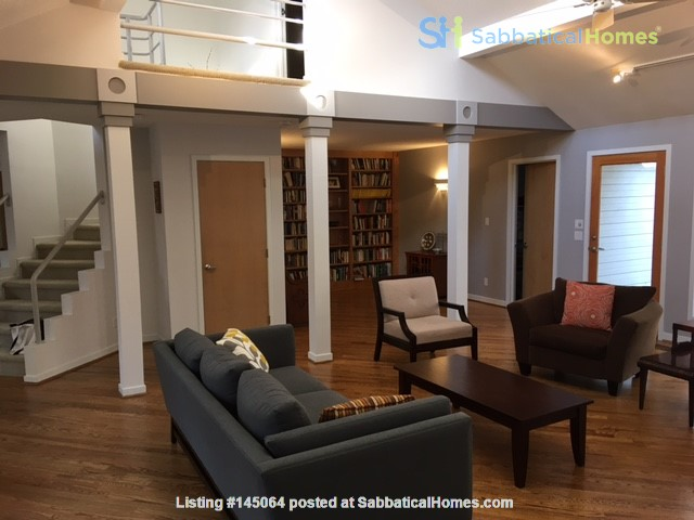 Lovely, wooded home convenient to Duke, UNC Home Rental in Durham, North Carolina, United States 1