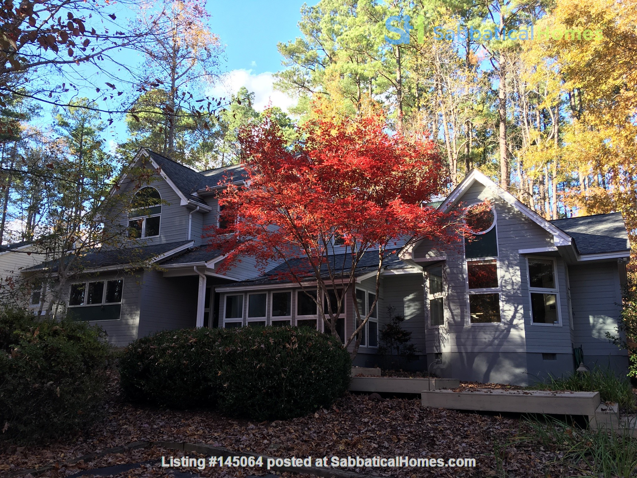 Lovely, wooded home convenient to Duke, UNC Home Rental in Durham, North Carolina, United States 0