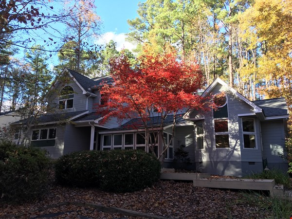 Lovely, wooded home convenient to Duke, UNC Home Rental in Durham 0 - thumbnail
