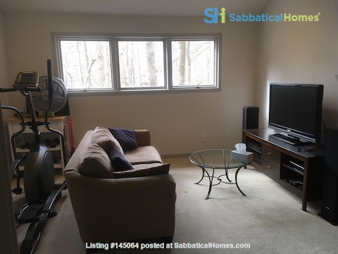 Lovely, wooded home convenient to Duke, UNC Home Rental in Durham, North Carolina, United States 7