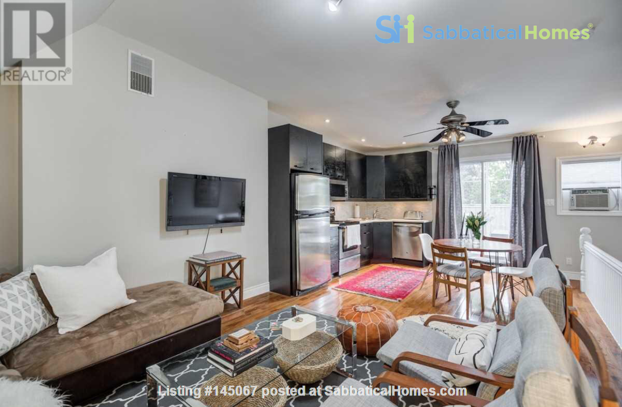 Downtown Home (Top 2 Floors of home), Large patio (3 Bed 1 Bath) Home Rental in Toronto, Ontario, Canada 1