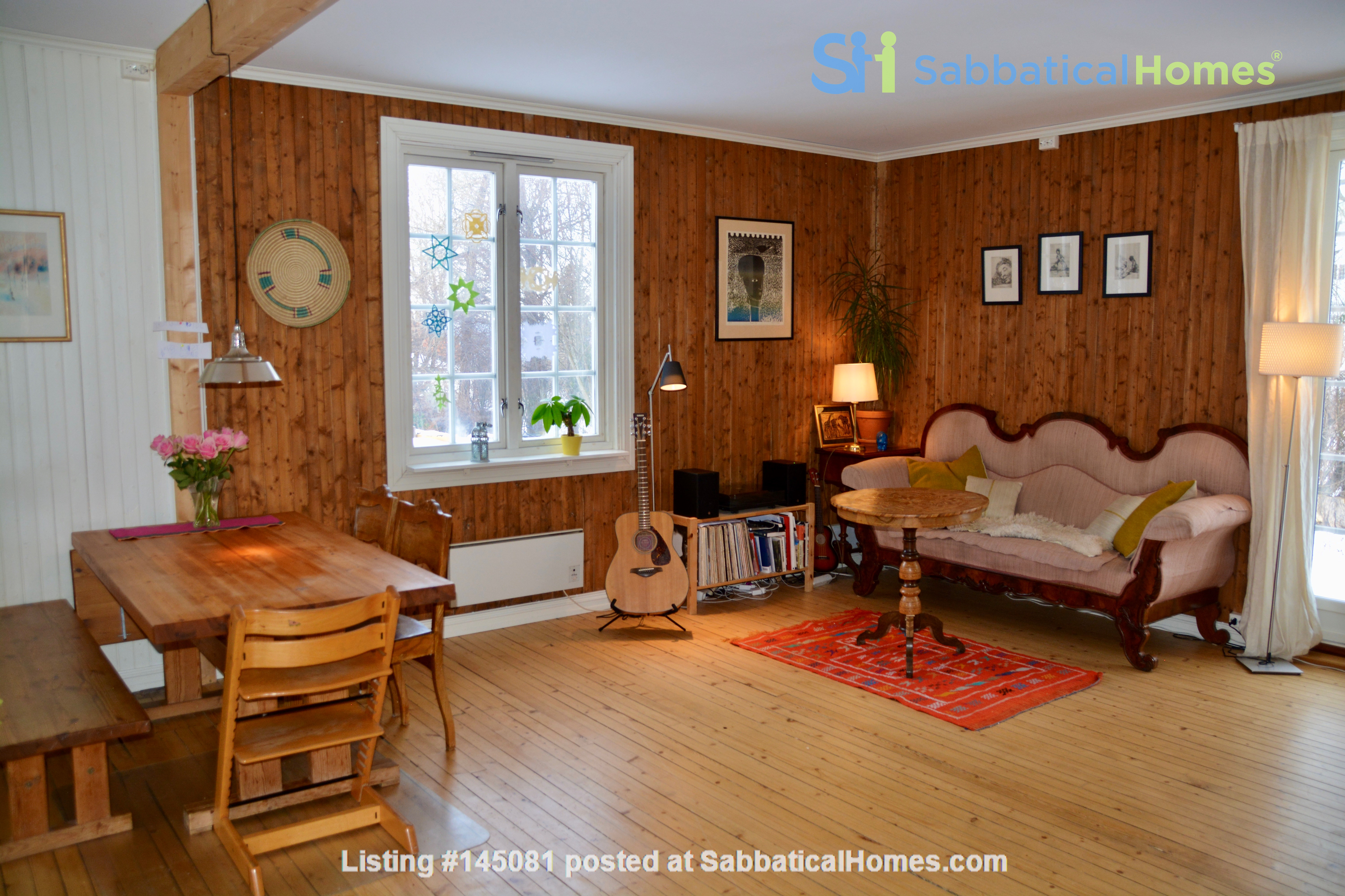 Child friendly home with four bedrooms in idyllic surroundings Home Rental in Trondheim, Trøndelag, Norway 2