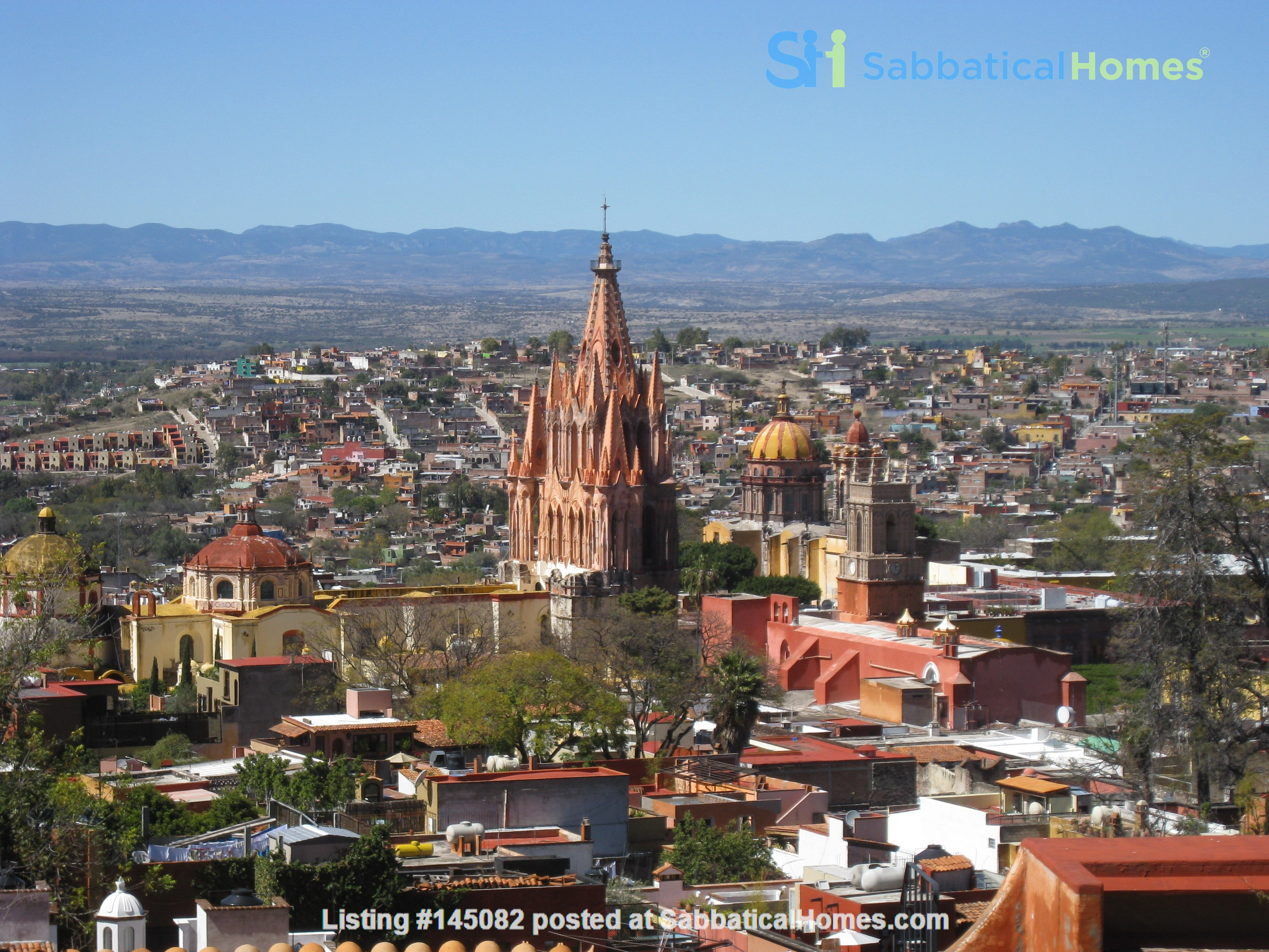 Perfect Home for Research/Writing in San Miguel de Allende; stellar views Home Rental in San Miguel de Allende 0