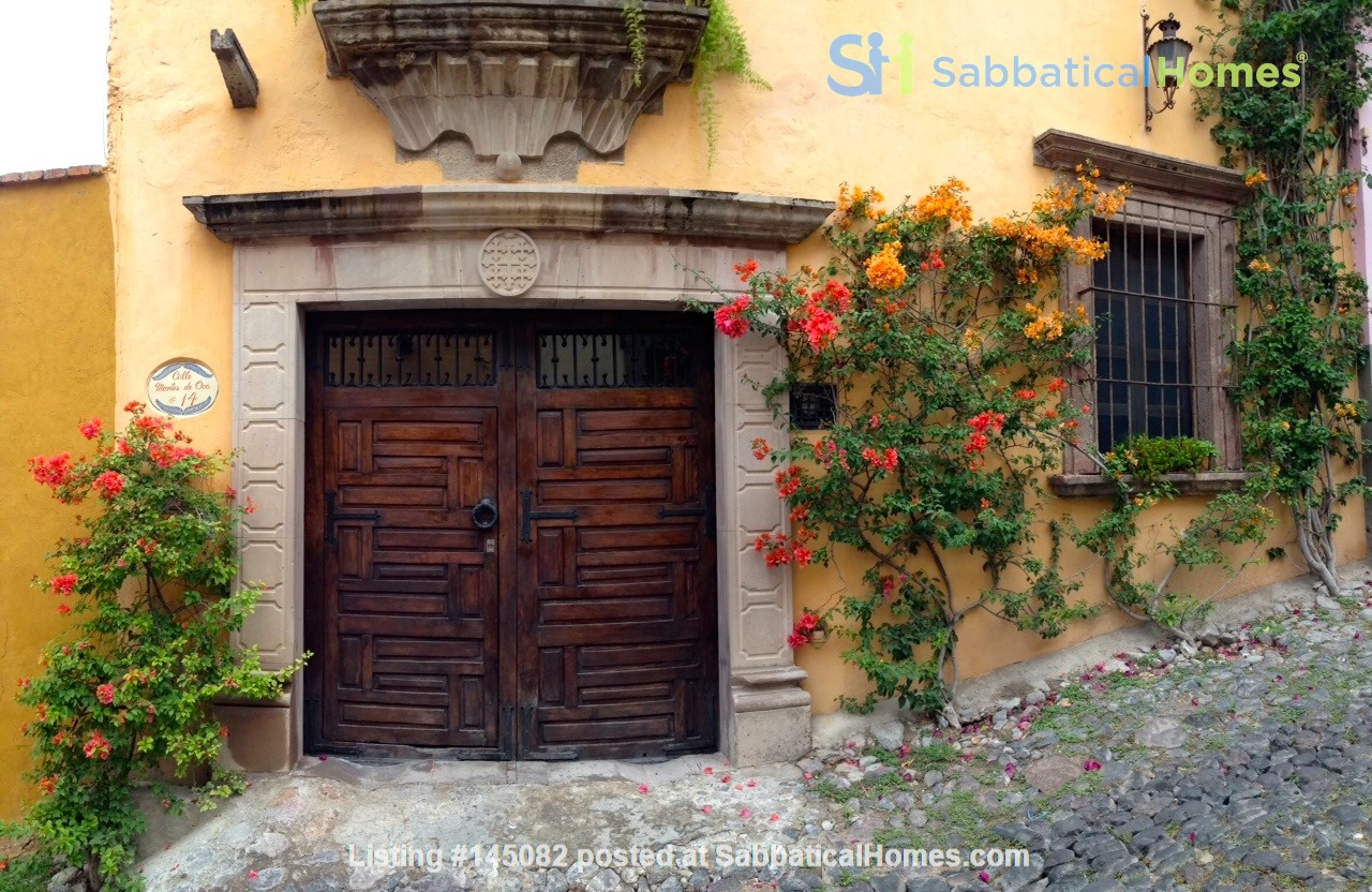 Perfect Home for Research/Writing in San Miguel de Allende; stellar views Home Rental in San Miguel de Allende 1