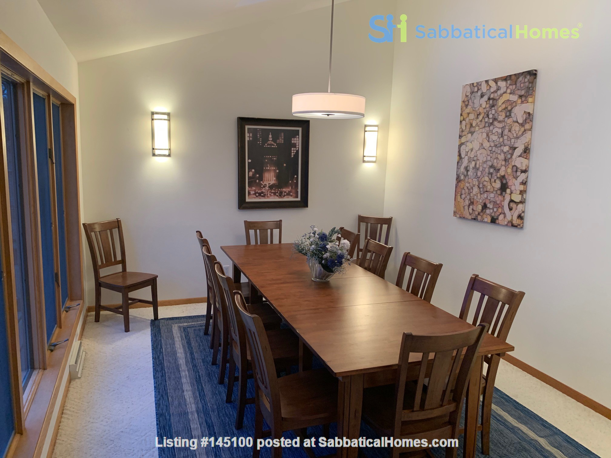 Fully Furnished Peaceful Private Lakefront home 10 mins to UW - Amazing! Home Rental in McFarland, Wisconsin, United States 2