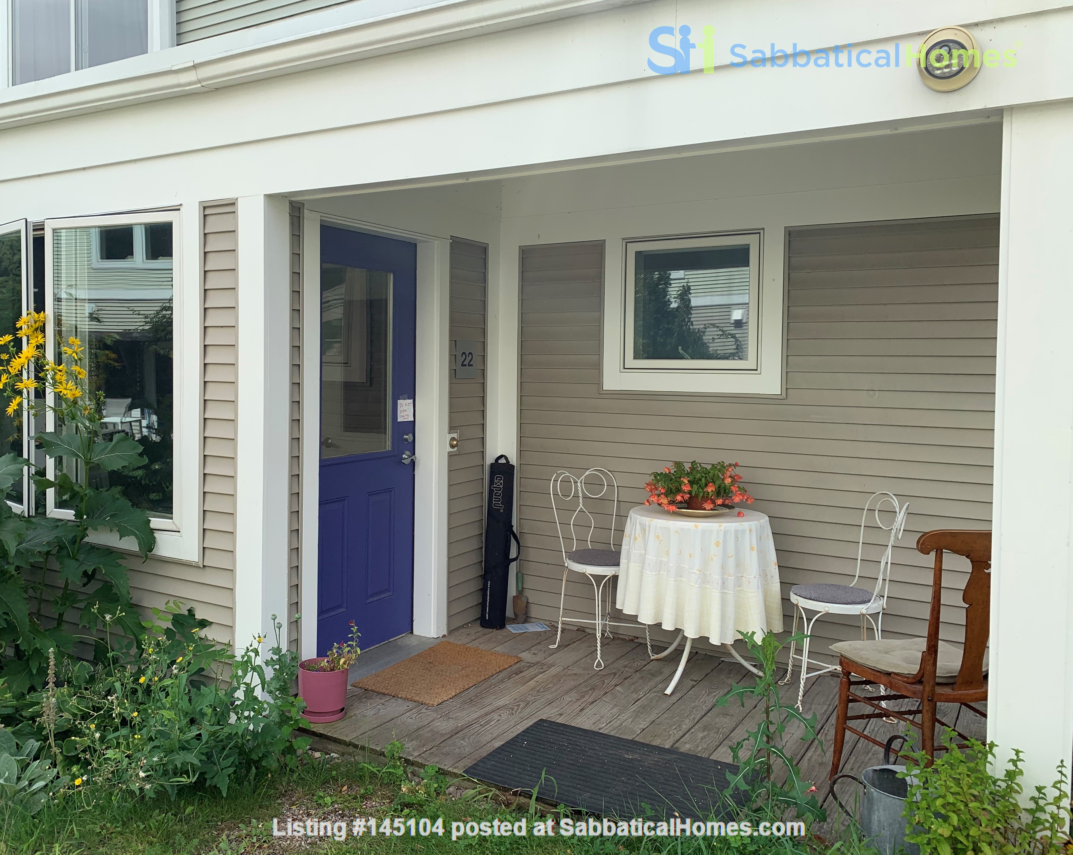 Furnished Townhouse in Co-Housing Community with Heat Included & Parking Home Rental in Burlington, Vermont, United States 0