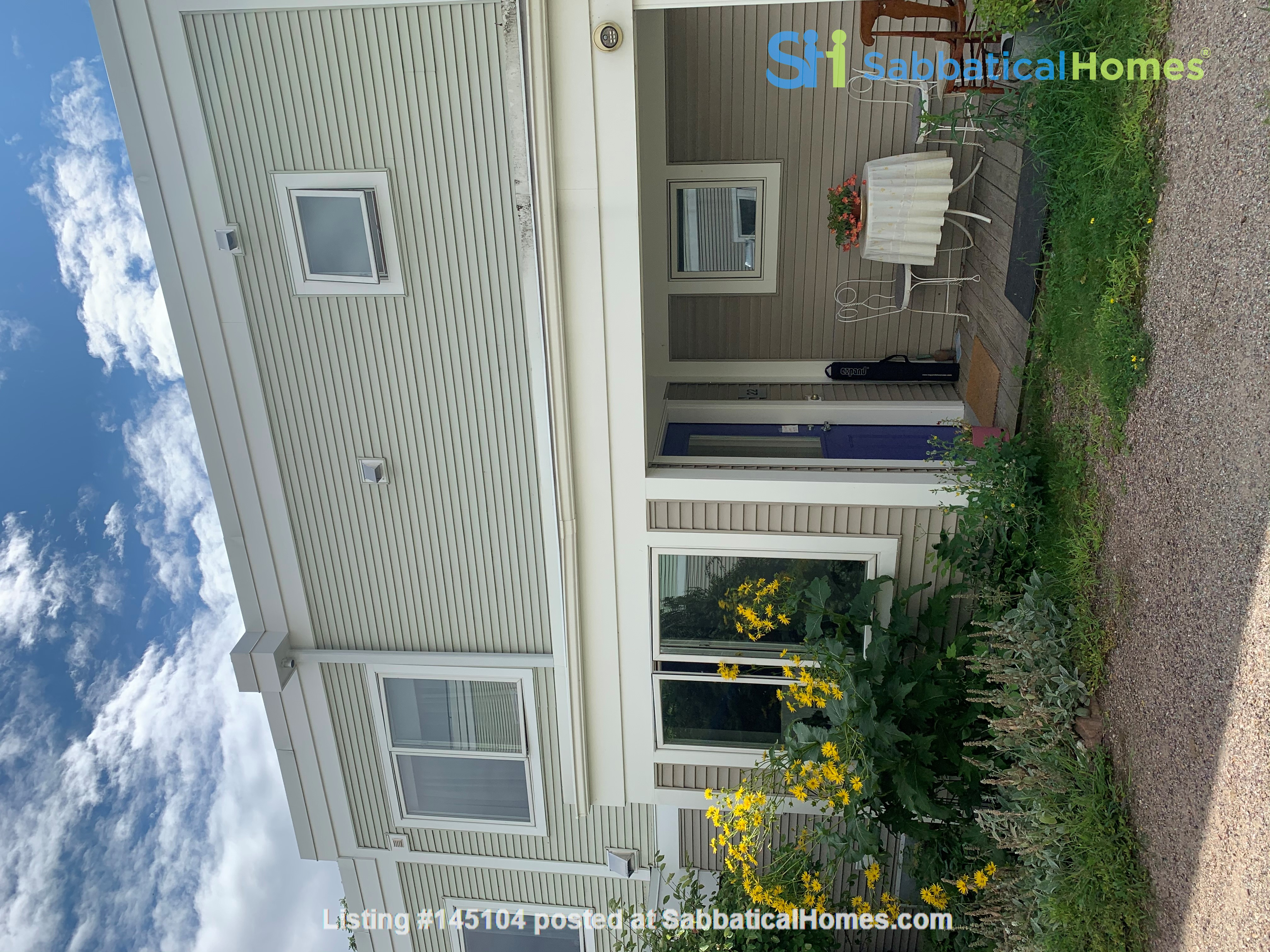 Furnished Townhouse in Co-Housing Community with Heat Included & Parking Home Rental in Burlington, Vermont, United States 6