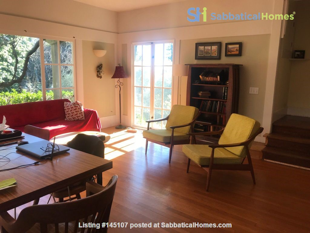 Charming fairy tales style townhouse nestled in the Berkeley Hills. Home Rental in Berkeley, California, United States 3