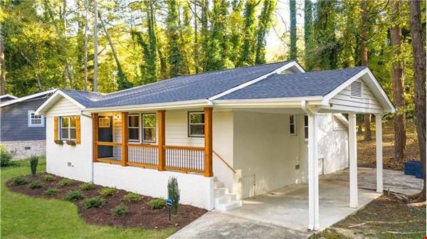 Perfect writer's haven in Southwest Atlanta! 15 mins from Midtown! Home Rental in Atlanta 0 - thumbnail