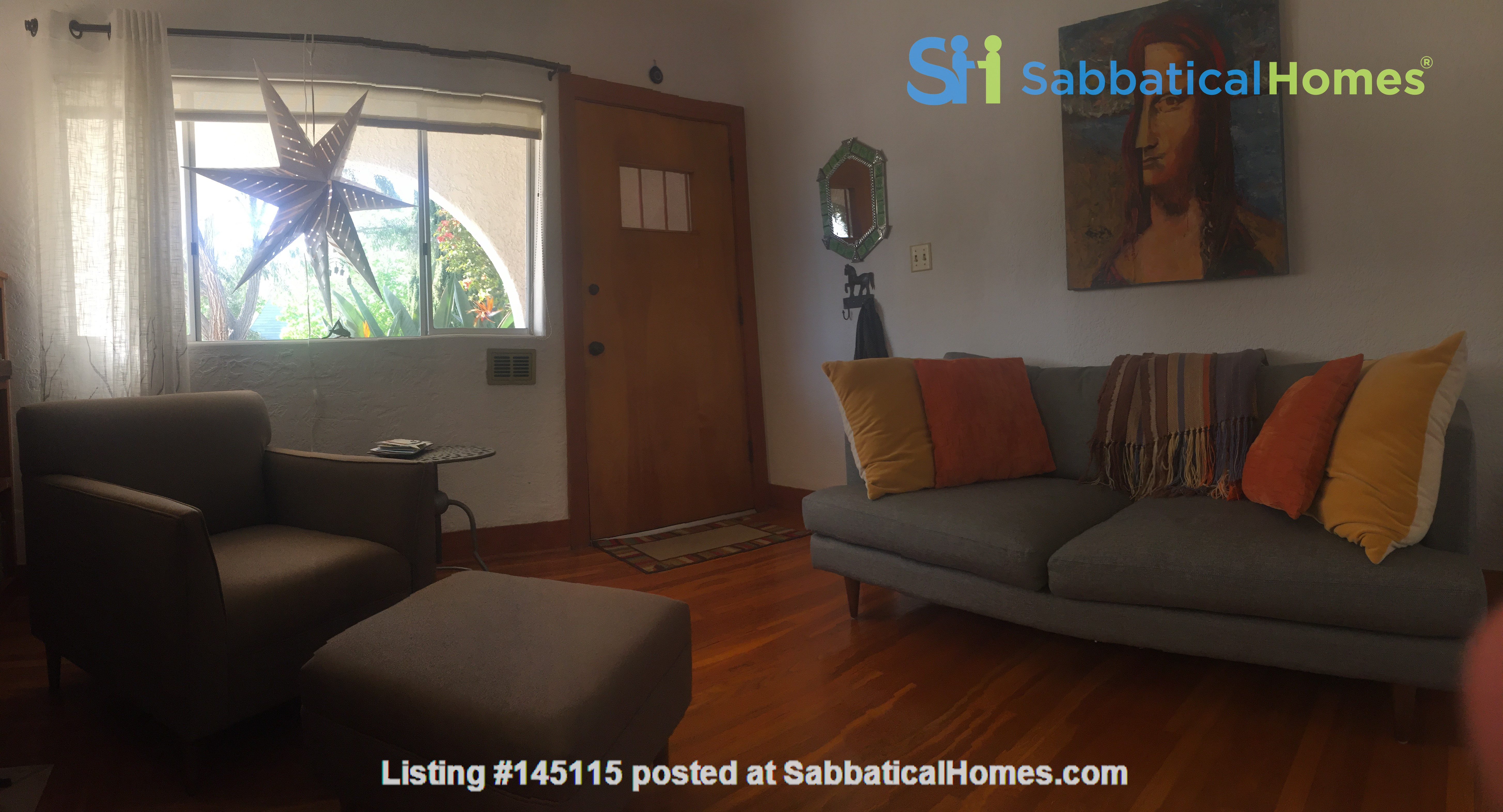 Quiet home for academic or visiting artist Home Rental in San Diego, California, United States 5