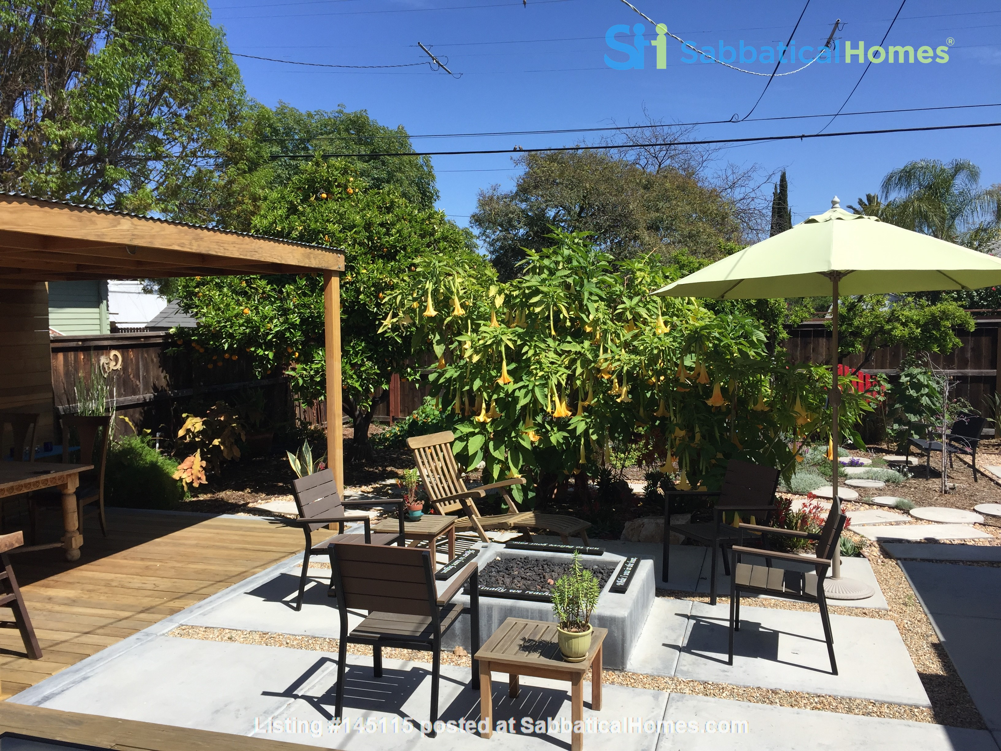 Quiet home for academic or visiting artist Home Rental in San Diego, California, United States 9