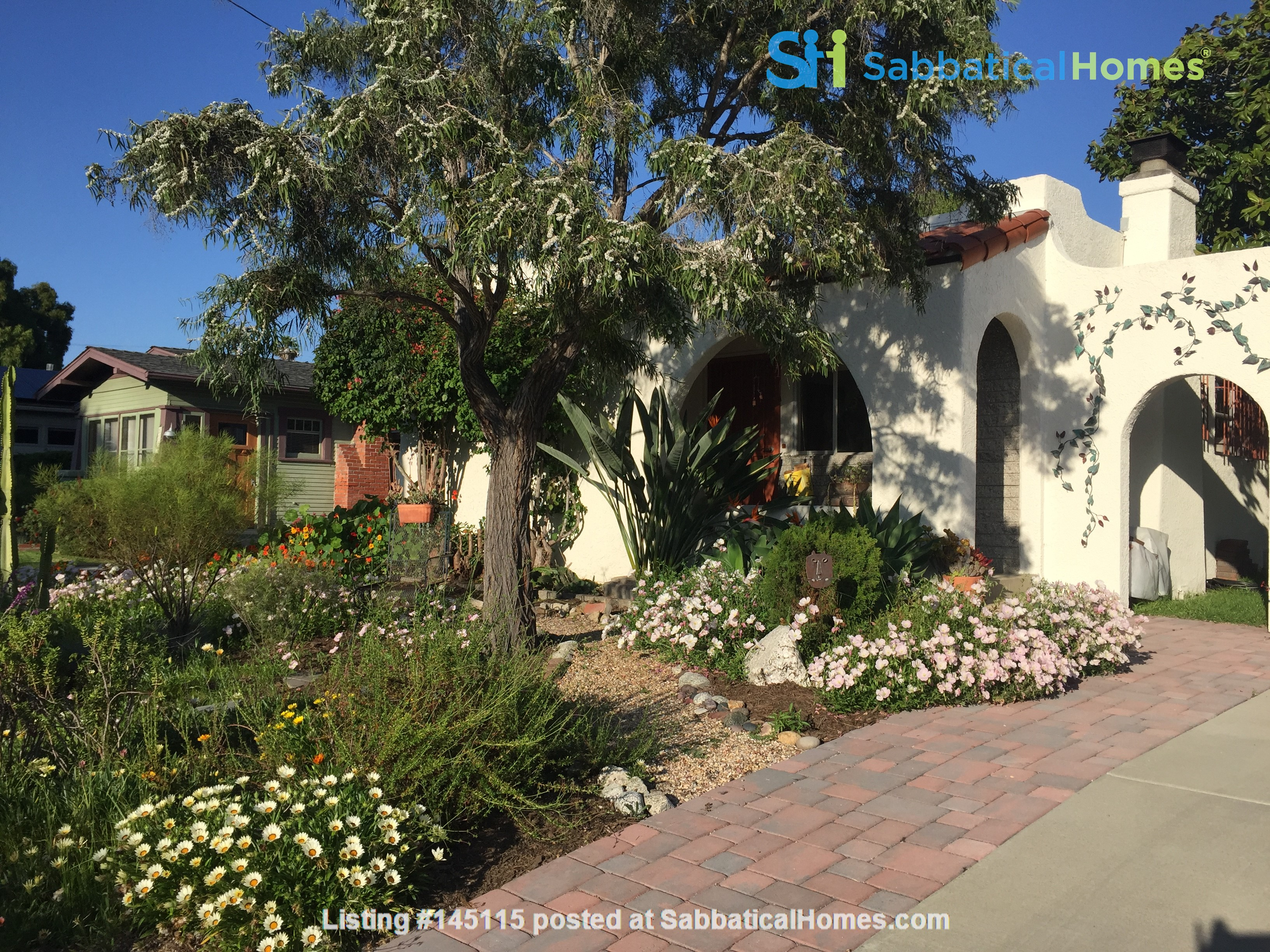 Quiet home for academic or visiting artist Home Rental in San Diego, California, United States 0