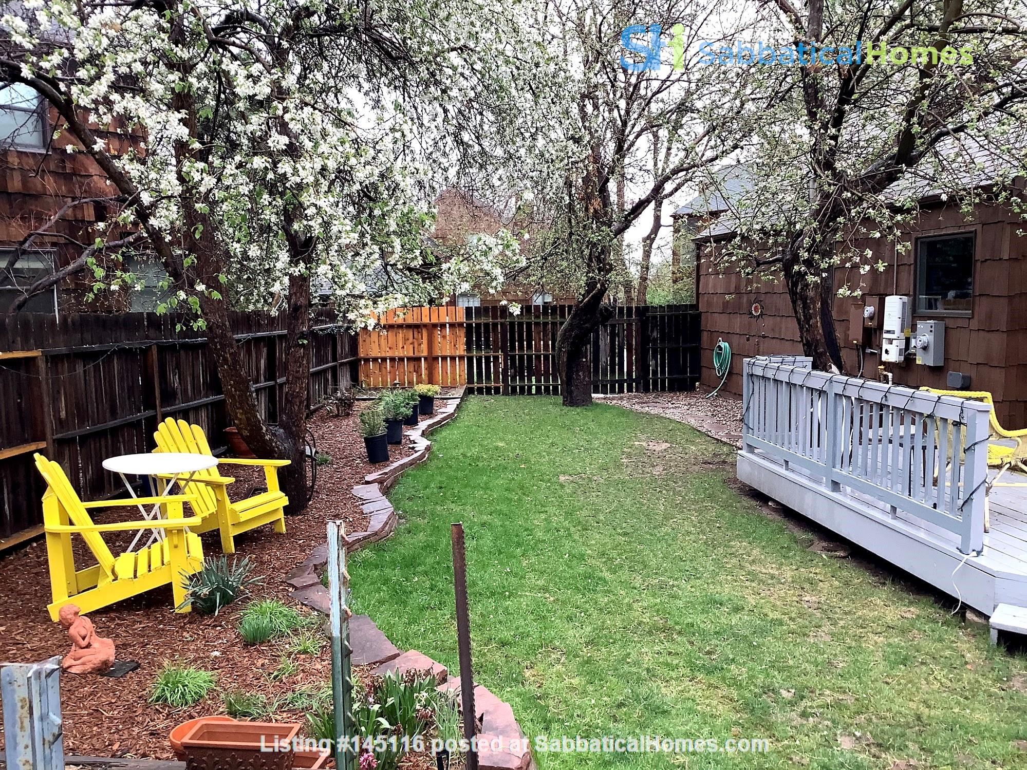 Fully Furnished Boulder Home Near Community Gardens Home Rental in Boulder, Colorado, United States 8