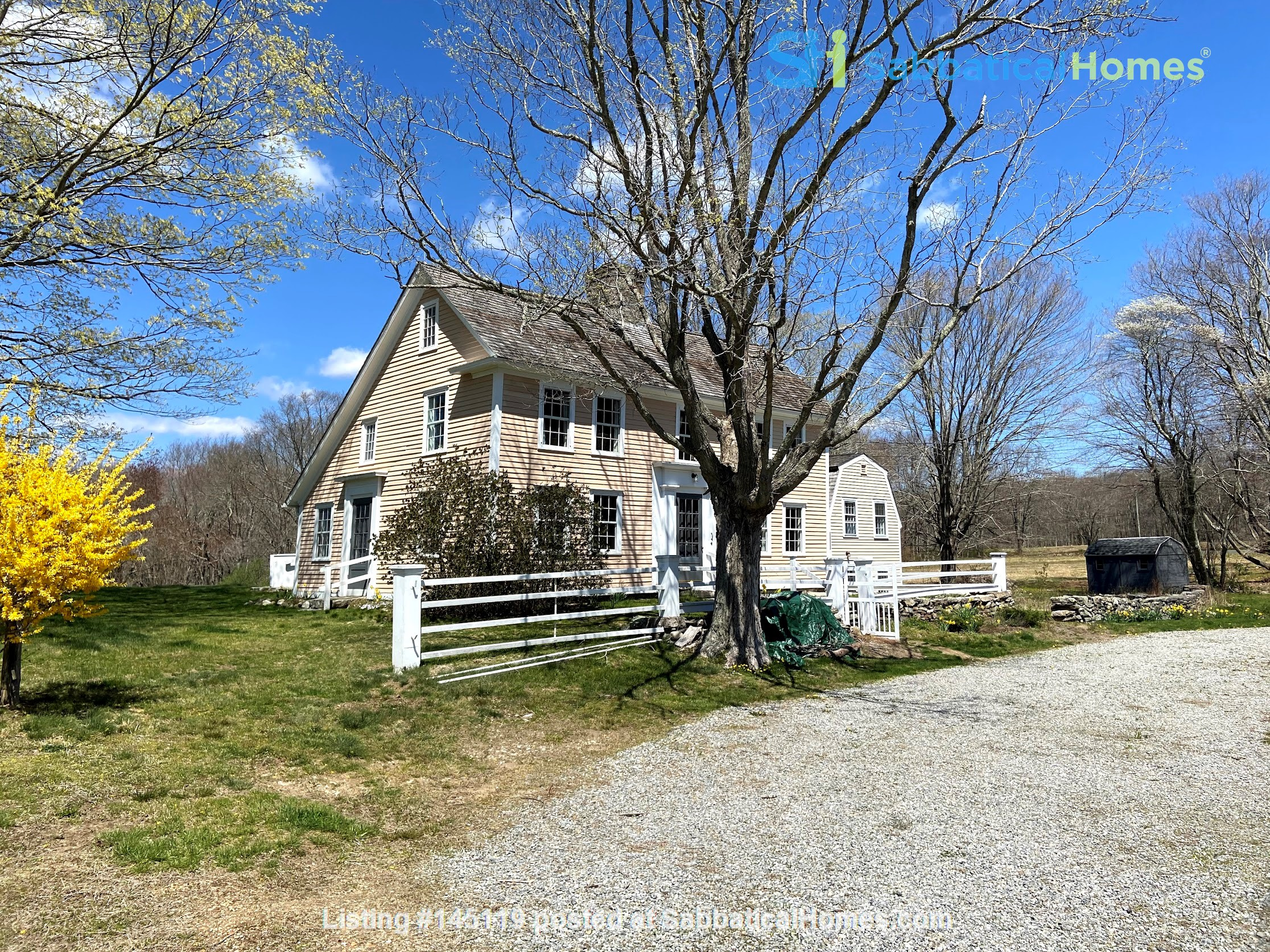 Historic New England Gem Home Rental in Lyme, Connecticut, United States 0