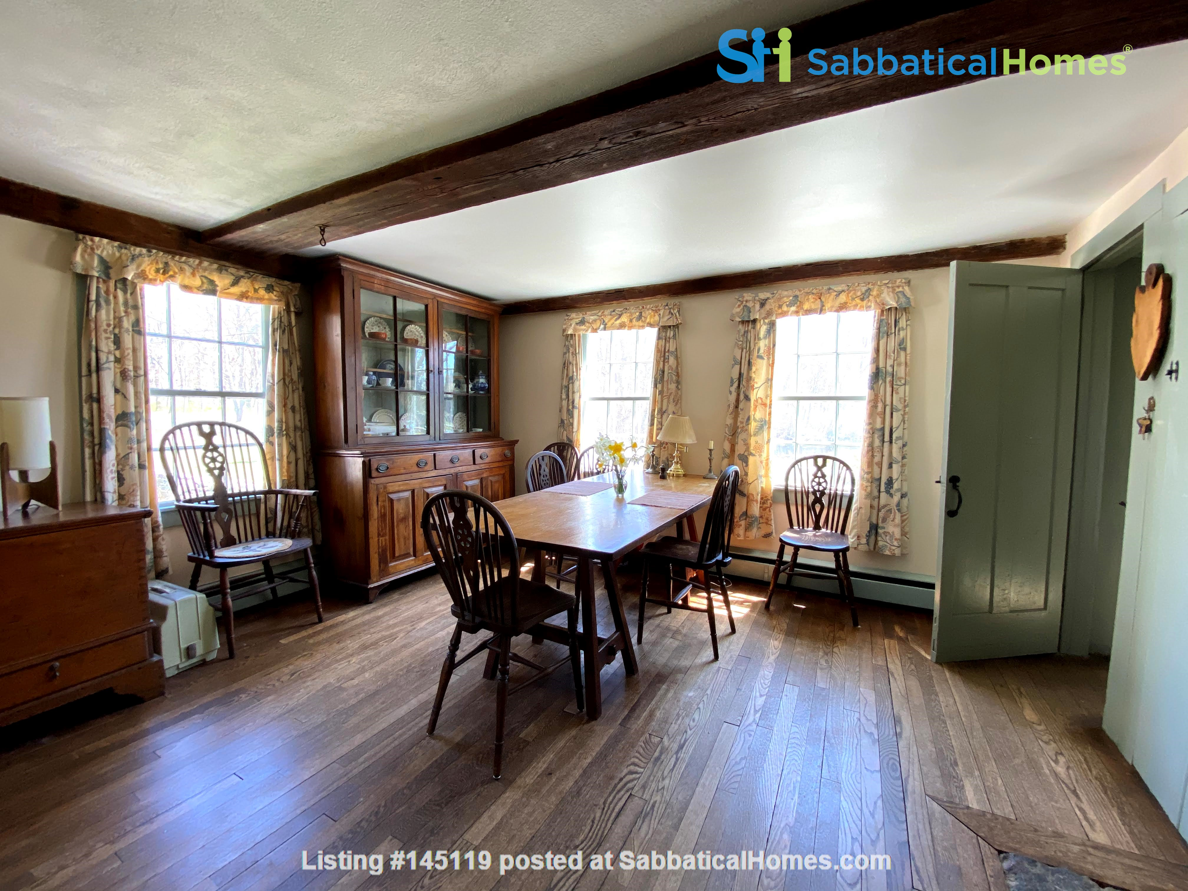 Historic New England Gem Home Rental in Lyme, Connecticut, United States 2