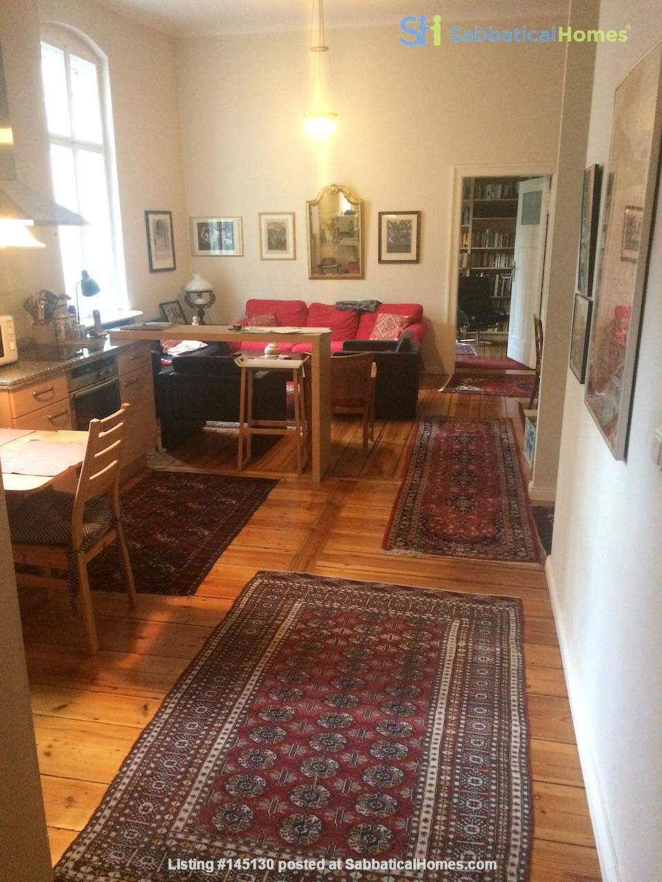 Old West Berlin Charm with Modern Touch: 3-room apartment close to Ku'Damm Home Rental in Berlin, Berlin, Germany 1