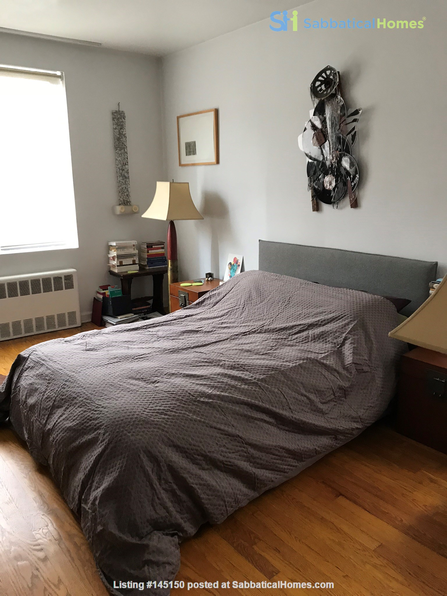 Steps from Central Park, place full of art and sun. Home Rental in New York, New York, United States 4
