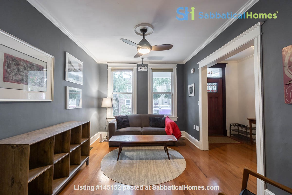 Furnished Row House Available August 2021 Home Rental in Washington, District of Columbia, United States 2