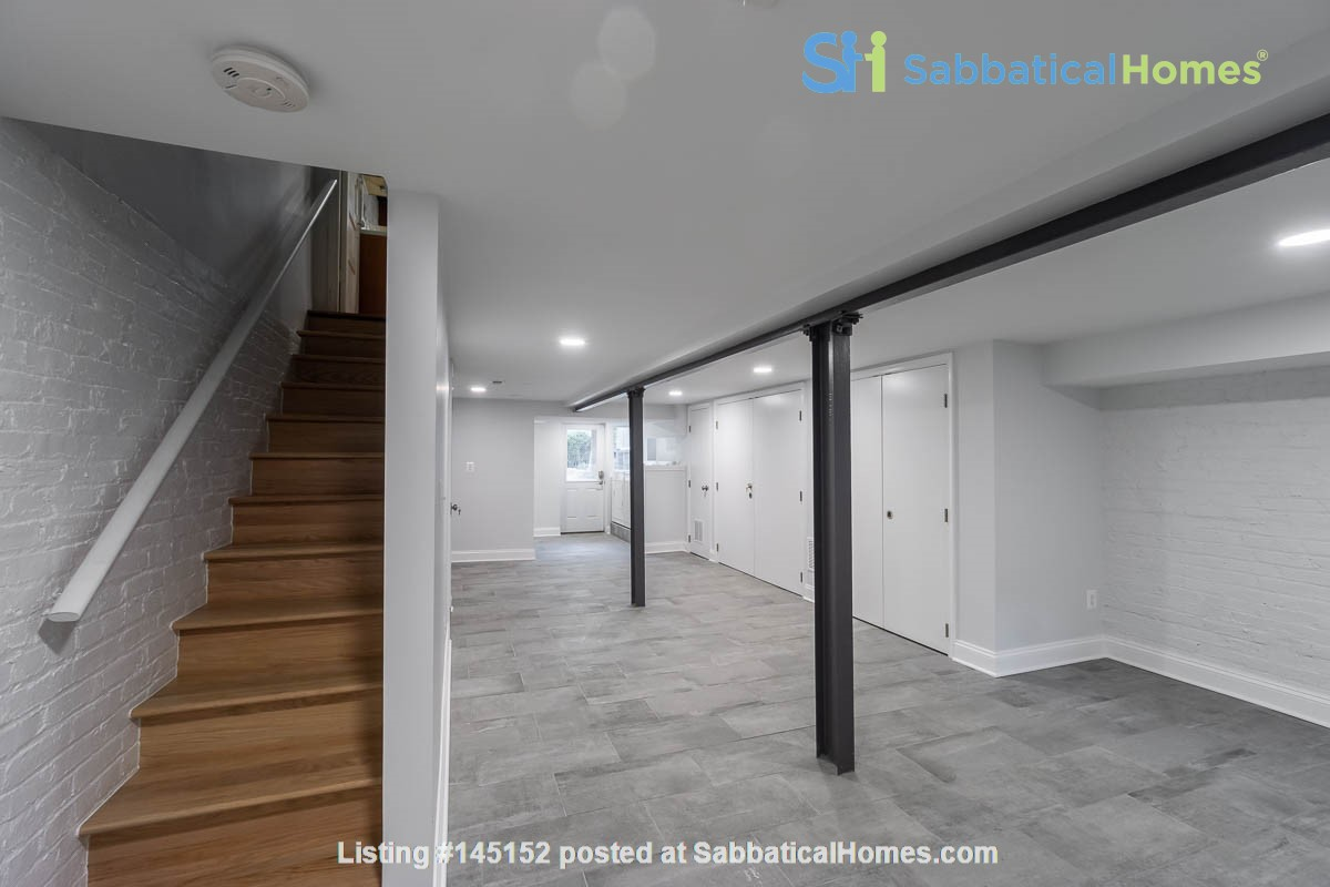 Furnished Row House Available August 2021 Home Rental in Washington, District of Columbia, United States 3