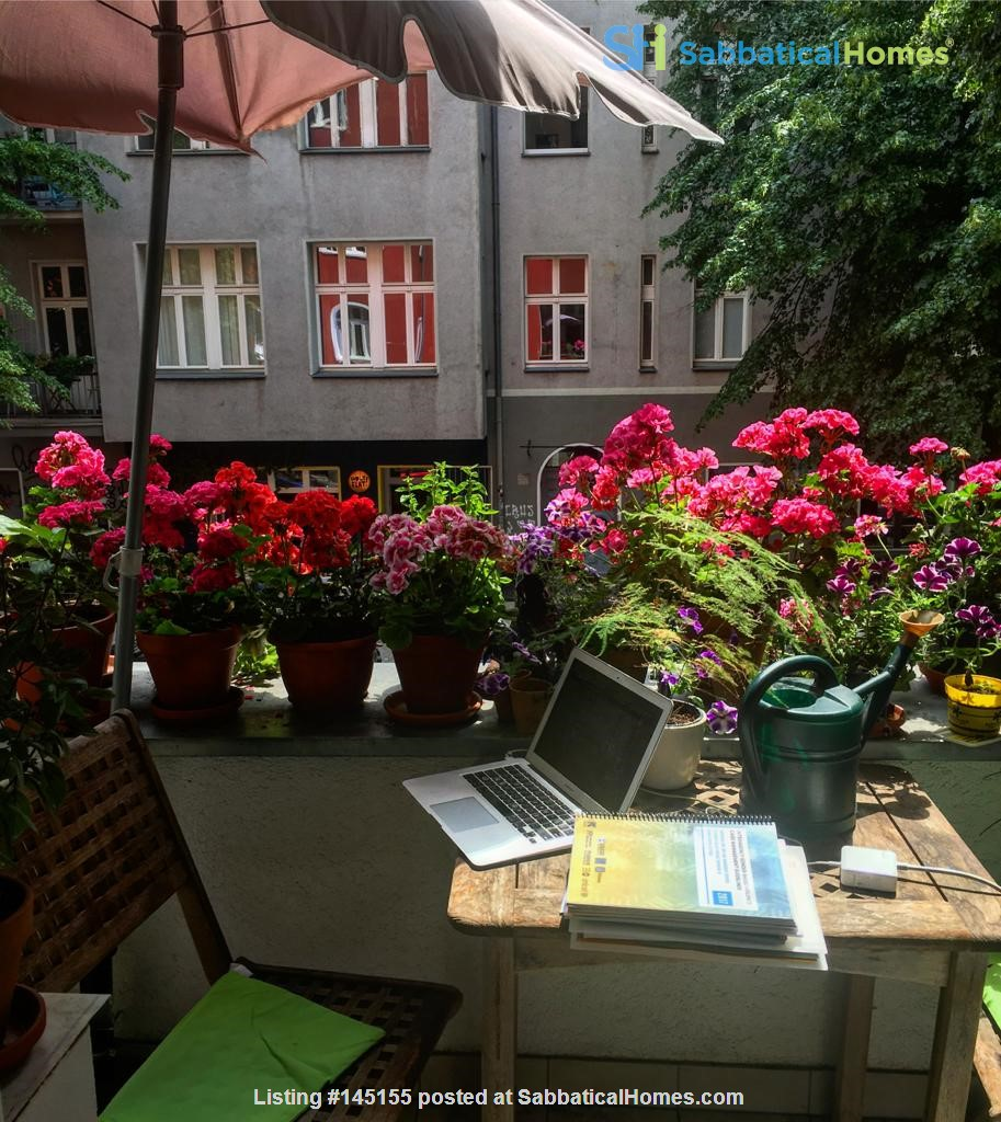 """Large 1 bedroom apartment in """"Kreuzkolln"""" close to canal and restaurants Home Rental in Berlin, Berlin, Germany 0"""