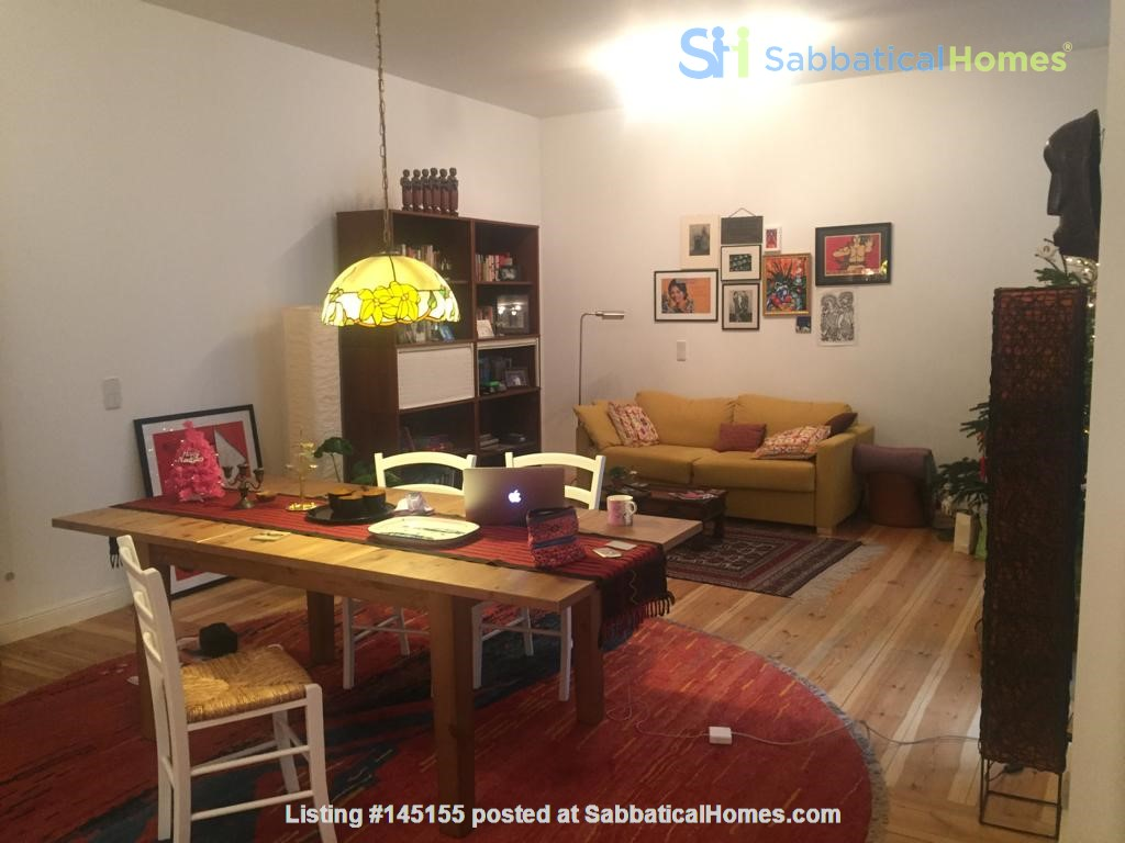 """Large 1 bedroom apartment in """"Kreuzkolln"""" close to canal and restaurants Home Rental in Berlin, Berlin, Germany 6"""