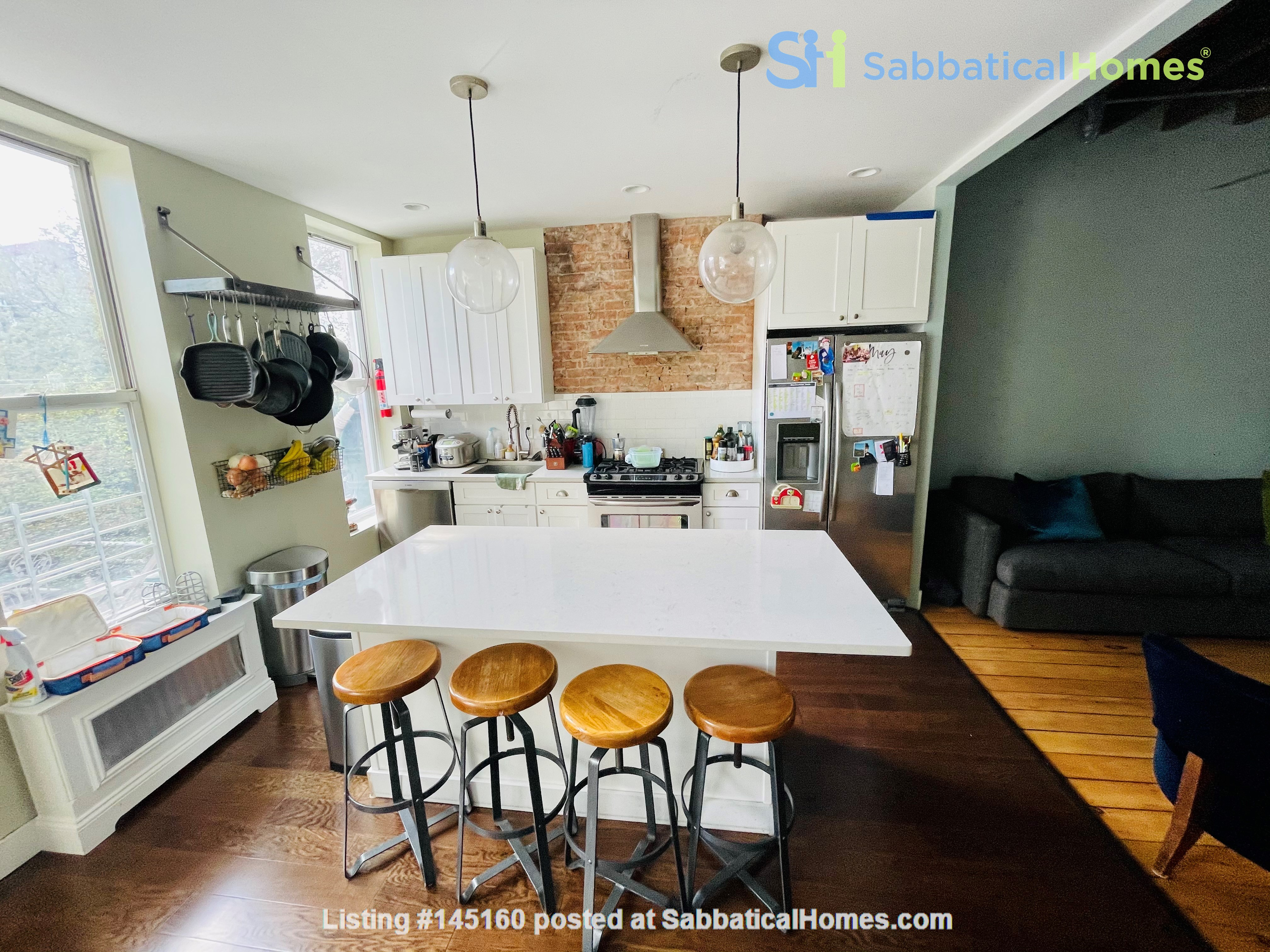 5br - Beautiful *NO FEE* Park Slope Townhouse w Private Yard Home Rental in Kings County, New York, United States 0