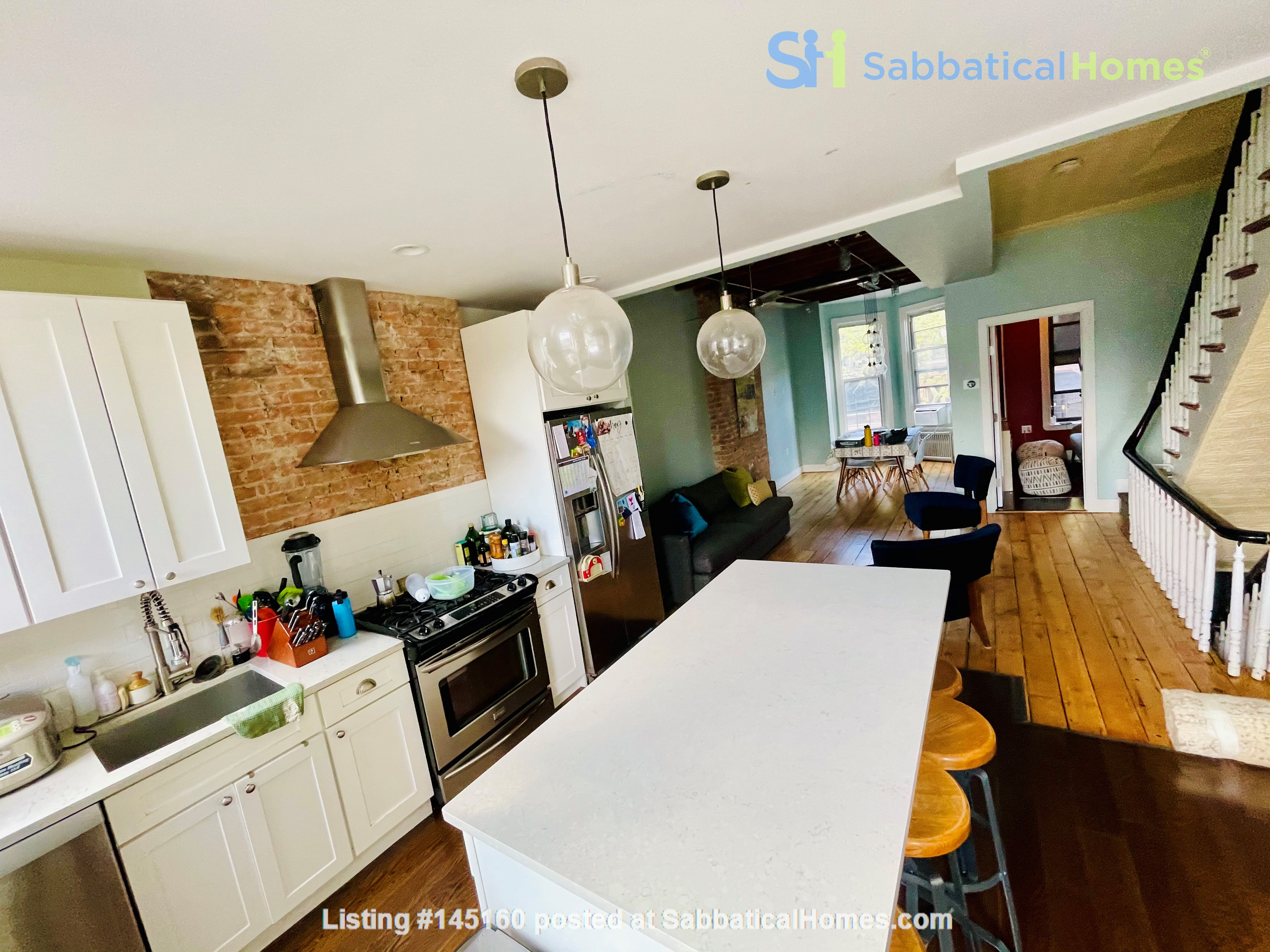 5br - Beautiful *NO FEE* Park Slope Townhouse w Private Yard Home Rental in Kings County, New York, United States 1