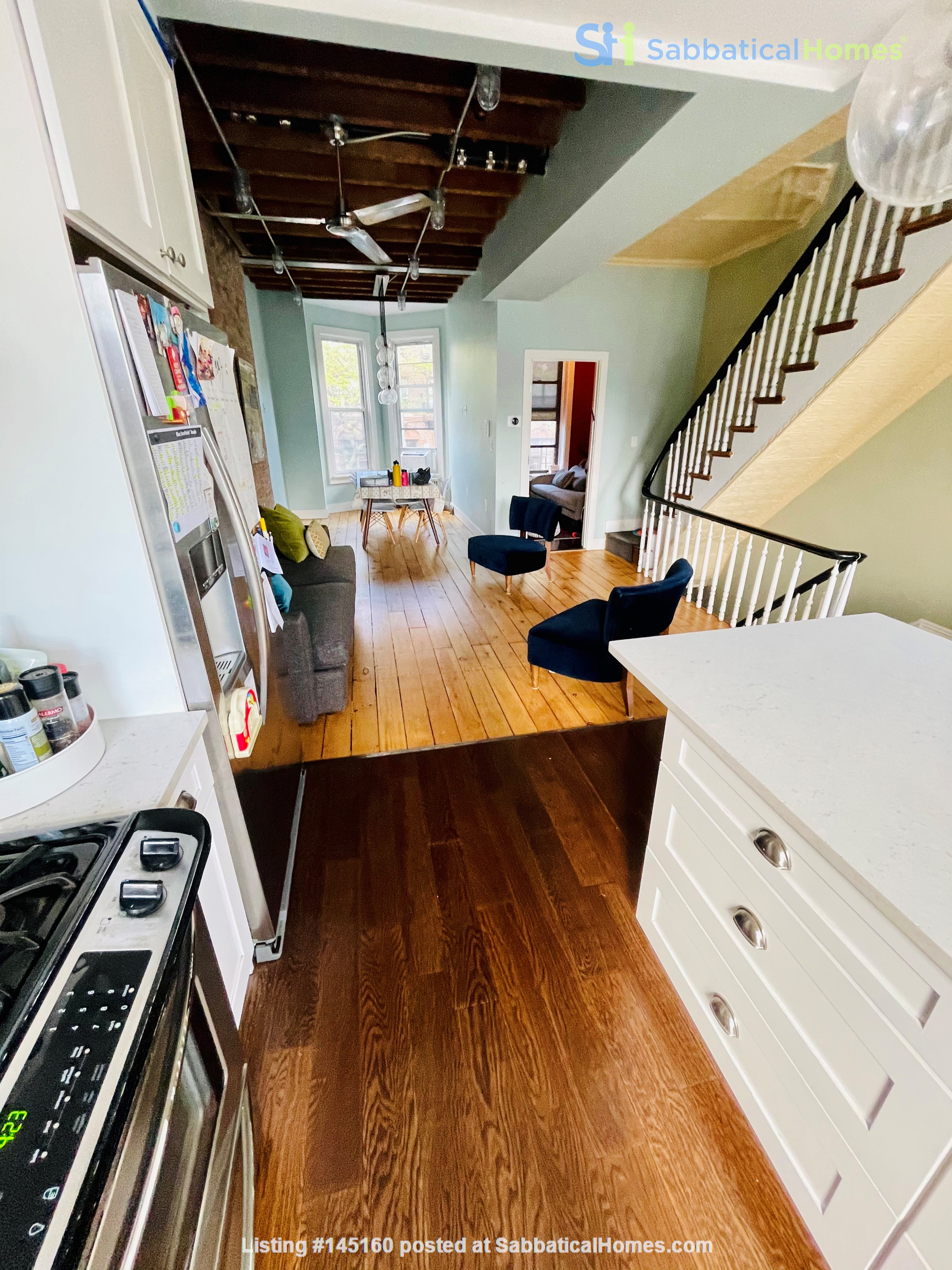 5br - Beautiful *NO FEE* Park Slope Townhouse w Private Yard Home Rental in Kings County, New York, United States 2
