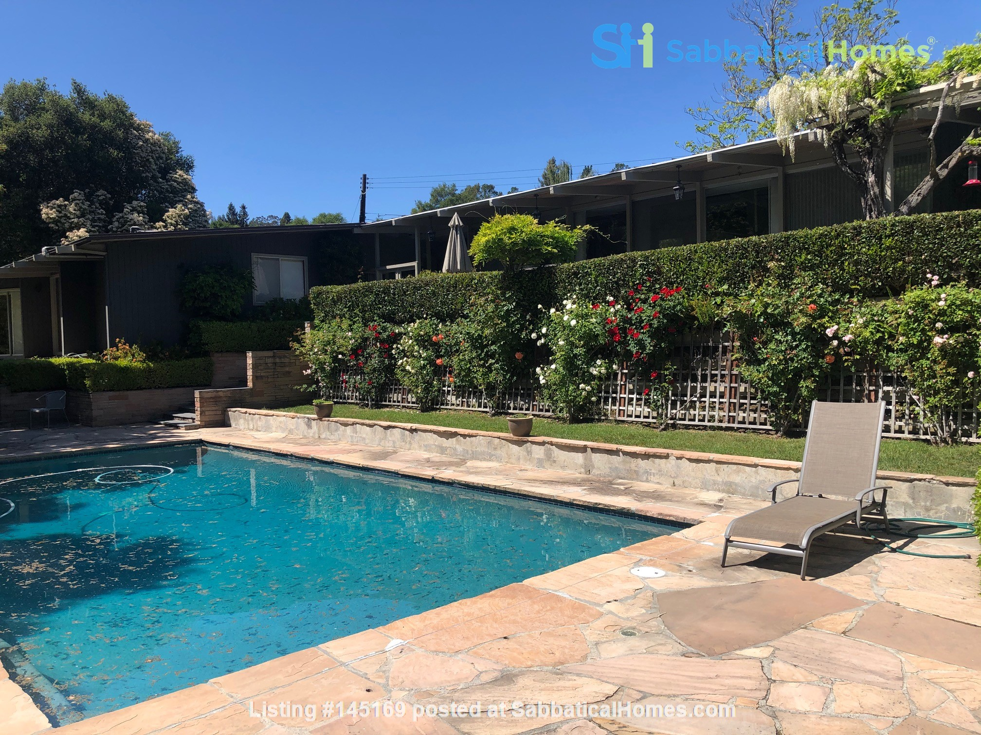 Large home (with pool) next to Berkeley in San Francisco Bay Area Home Exchange in Orinda, California, United States 1