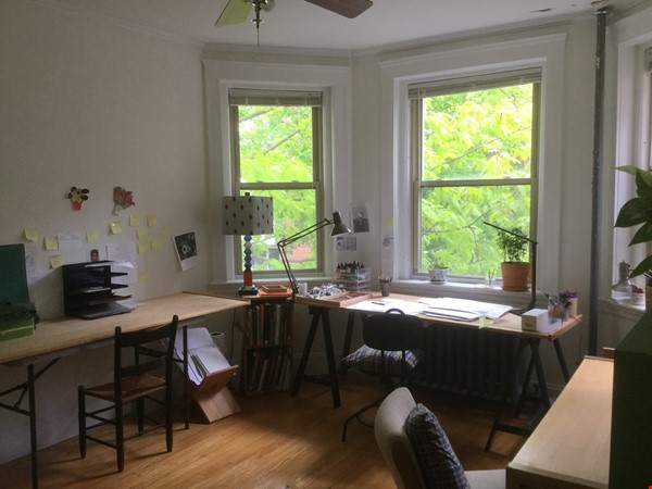 Sunny two-bedroom apartment near Harvard Square Home Rental in Cambridge 0 - thumbnail
