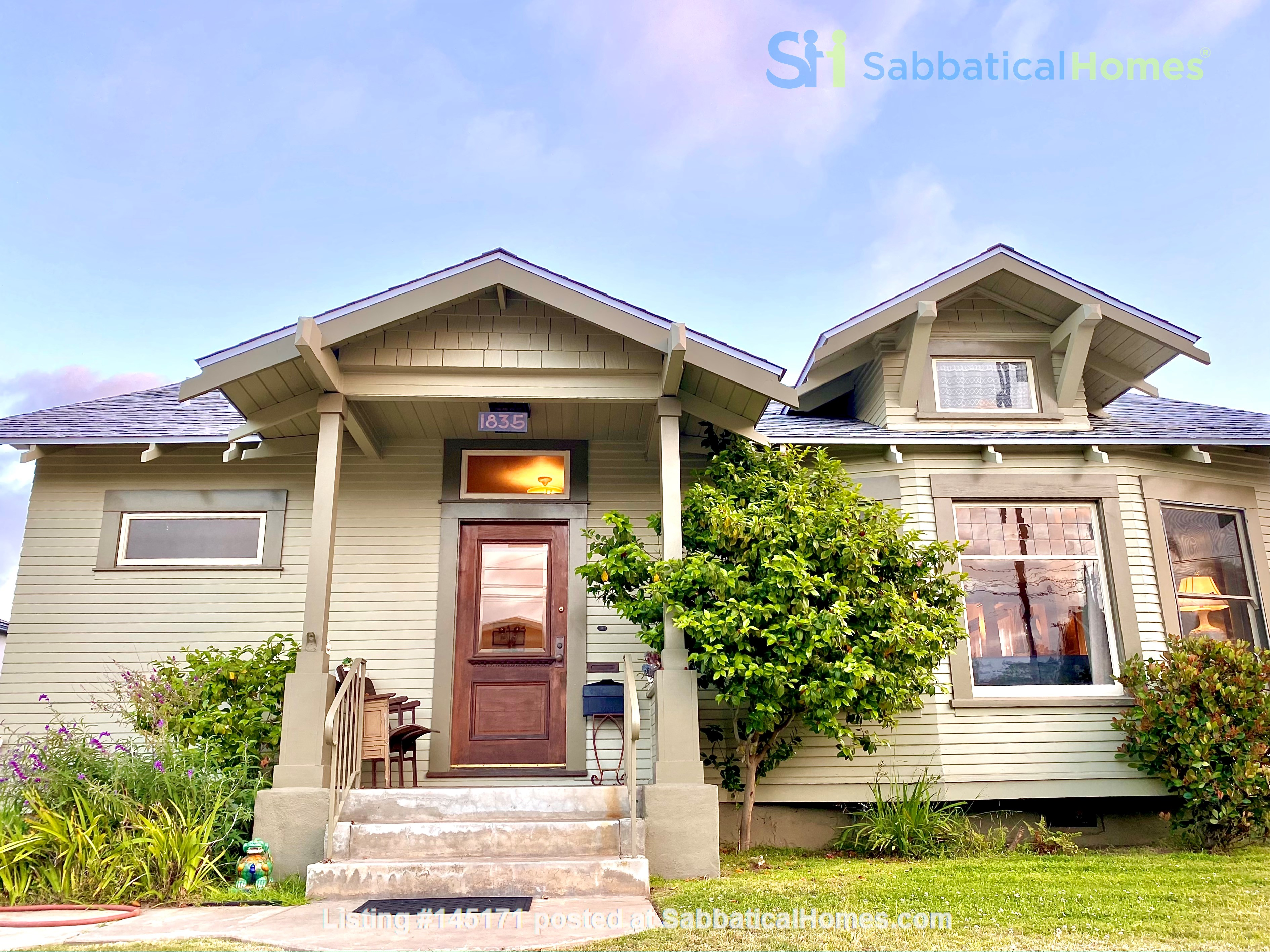 Lovely Craftsman home in historic neighborhood near beaches and downtown! Home Rental in San Diego, California, United States 0