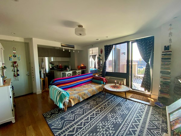 Beautiful, light filled 2 BR, 2 BA + Terrace & Indoor Parking in Brooklyn Home Rental in  1 - thumbnail