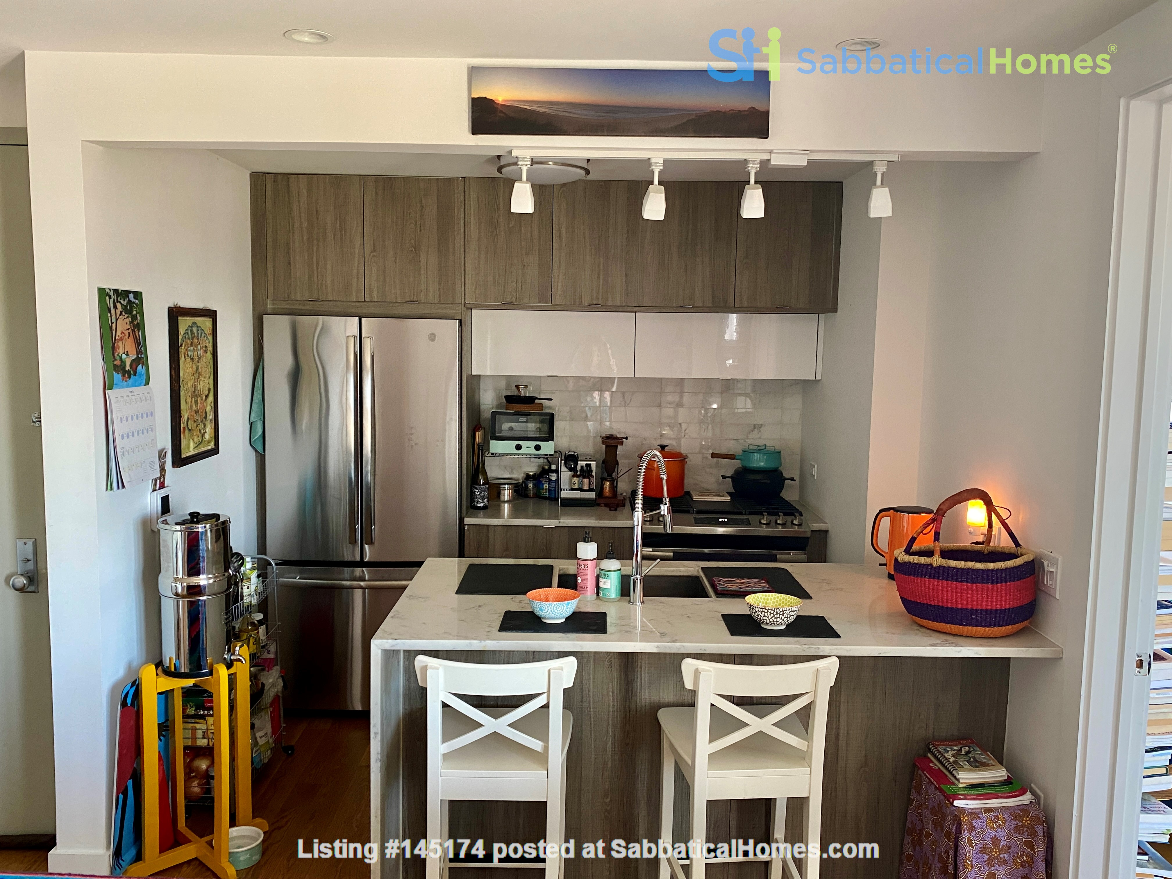 Beautiful, light filled 2 BR, 2 BA + Terrace & Indoor Parking in Brooklyn Home Rental in Kings County, New York, United States 4