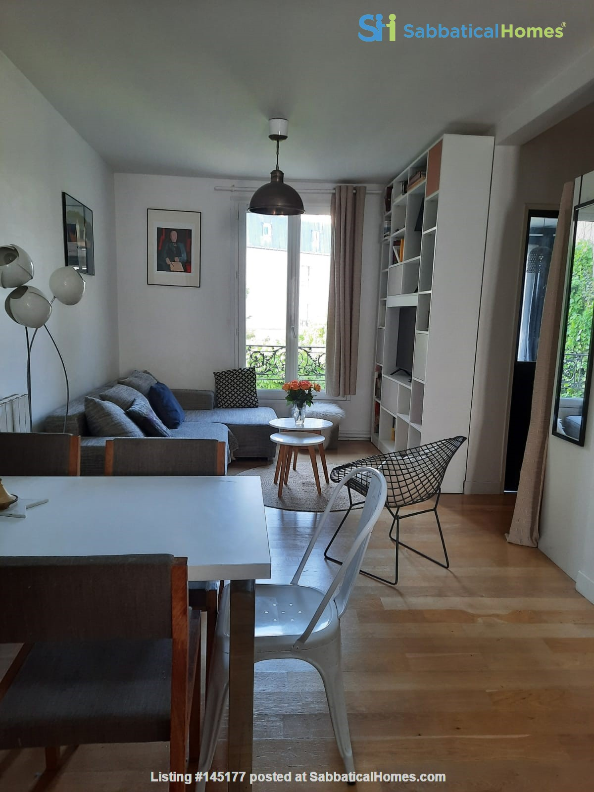 East Paris- Quiet beautiful appt 3mn from metro and the wood of vincennes Home Rental in Saint-Mandé, Île-de-France, France 0