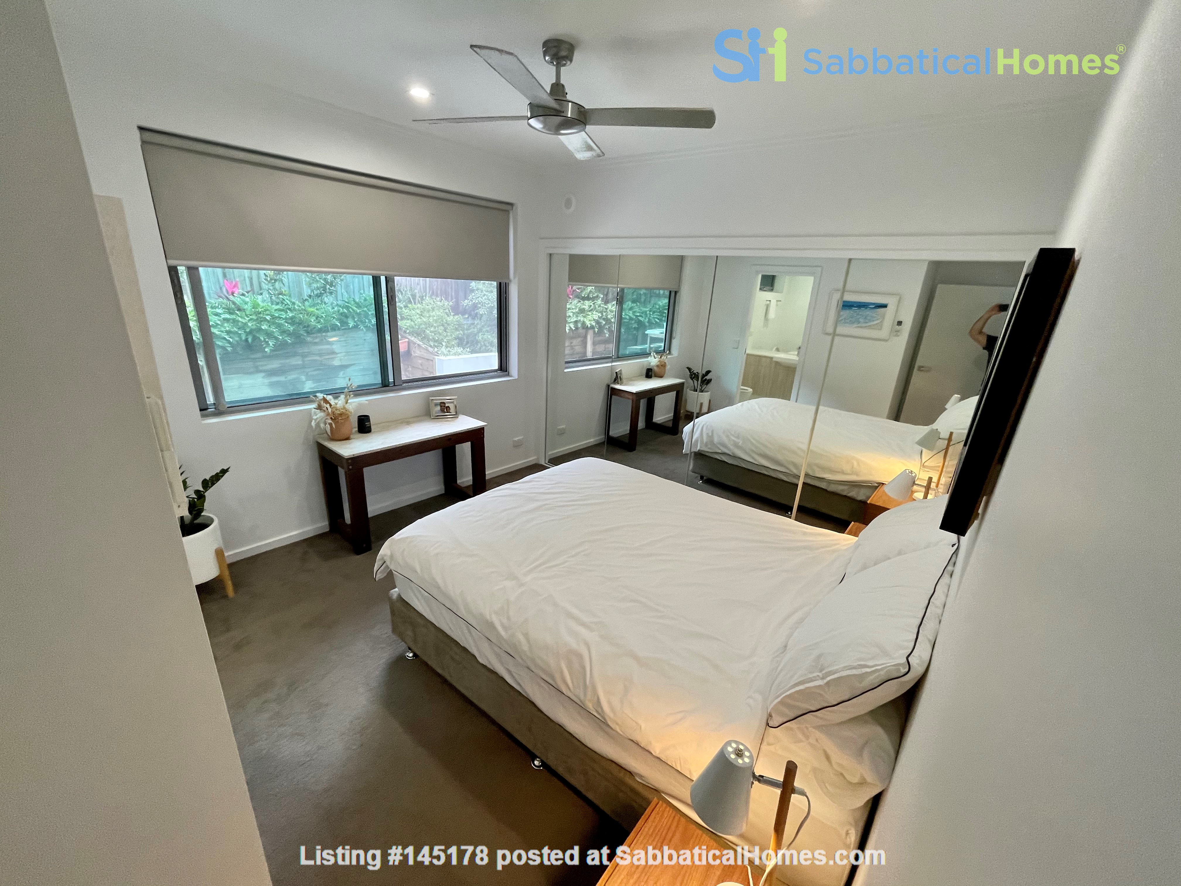 Lovely 2br apartment with large terrace/garden. 5km from Brisbane CBD Home Rental in Coorparoo, Queensland, Australia 2