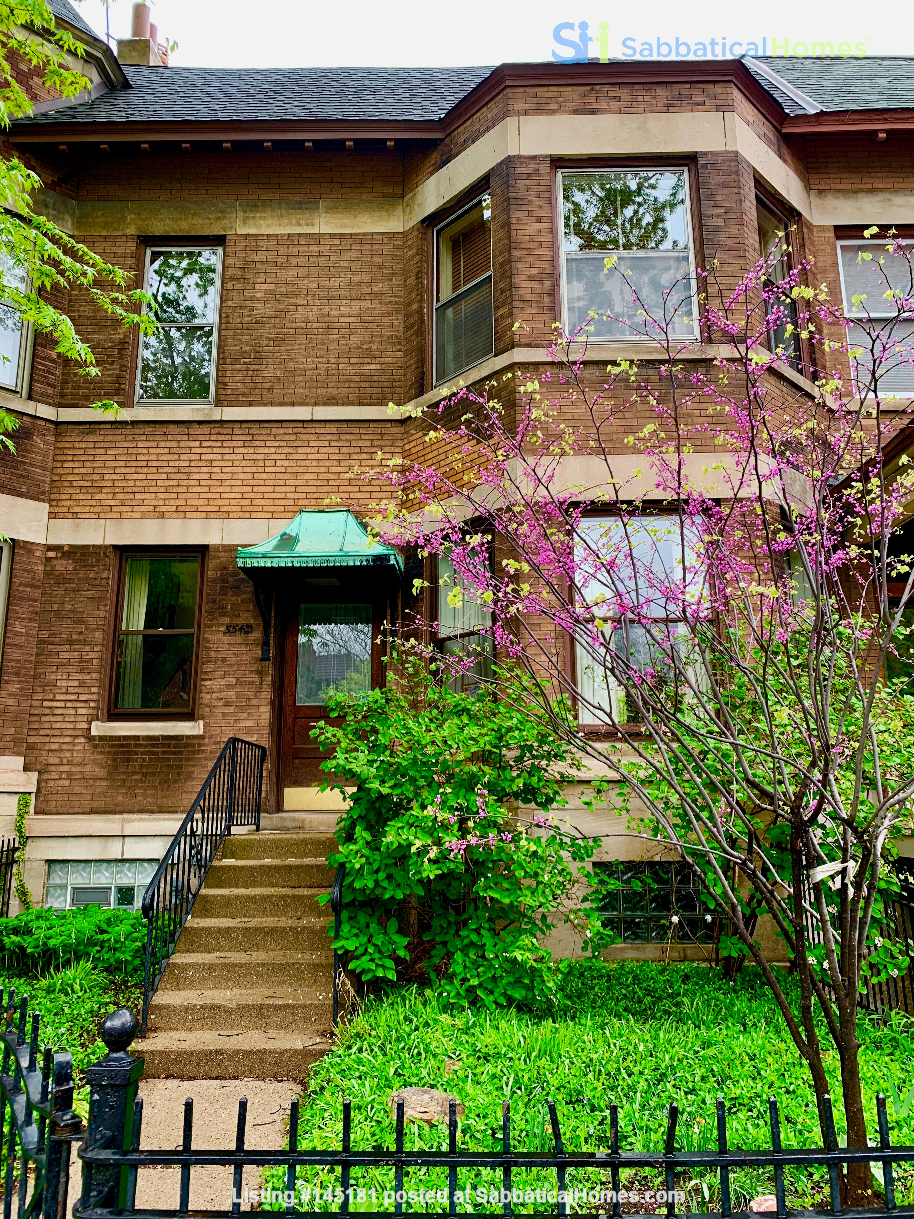 Beautiful Hyde Park Home Near UChicago, Lake, Loop Home Rental in Chicago, Illinois, United States 0