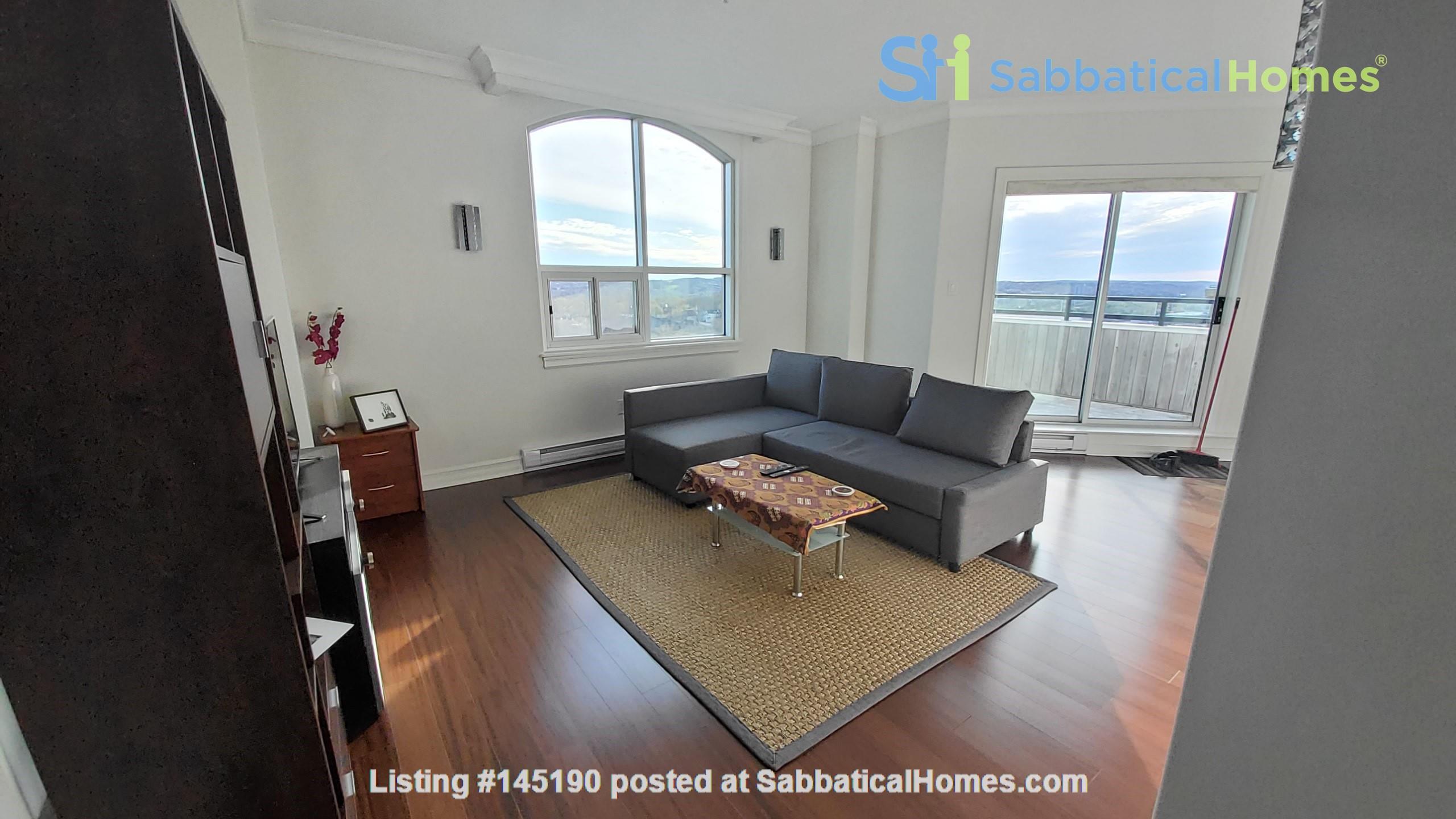 Spacious, Sunny, 12th-floor Condo in the North End of Halifax, Nova Scotia Home Rental in Halifax, Nova Scotia, Canada 0