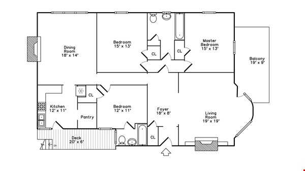 Family-ready 3bed/2bath with front porch & back garden a walk from the lake Home Rental in Chicago 9 - thumbnail
