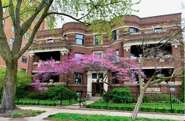 Family-ready 3bed/2bath with front porch & back garden a walk from the lake Home Rental in Chicago 0 - thumbnail
