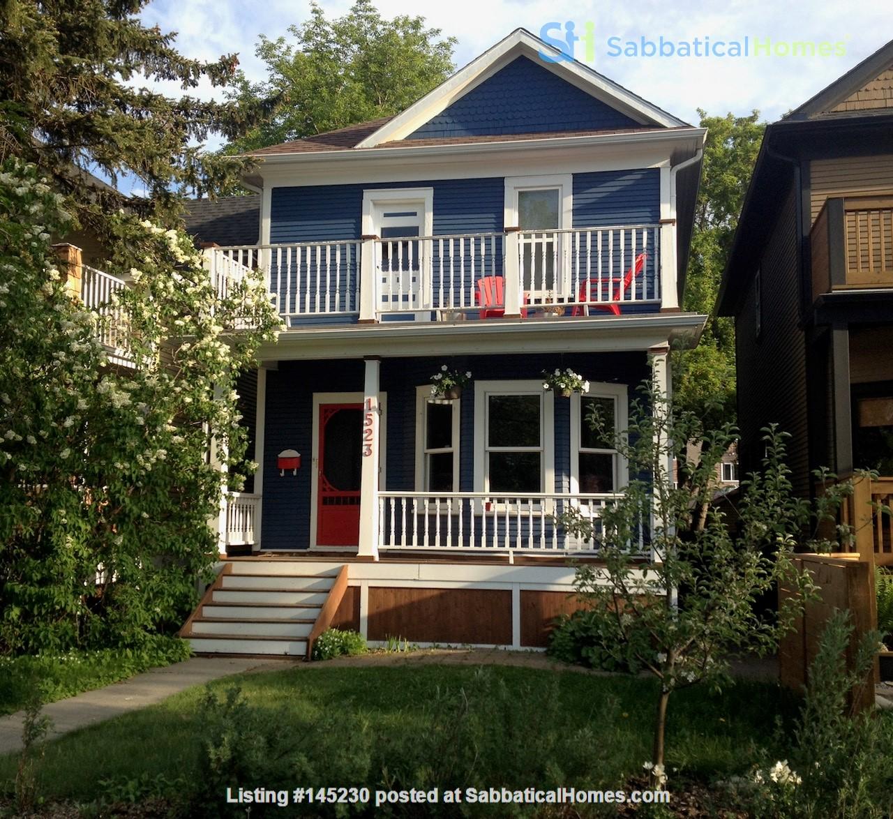 Beautiful historic home in sought after Calgary neighbourhood Home Rental in Calgary, Alberta, Canada 0