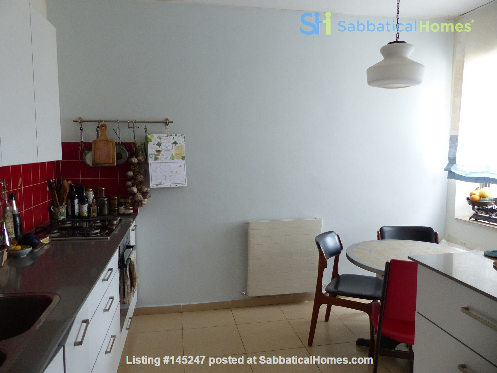 Bright renovated apartment (2BR) with great views near Givat Ram Home Rental in Jerusalem, Jerusalem District, Israel 1