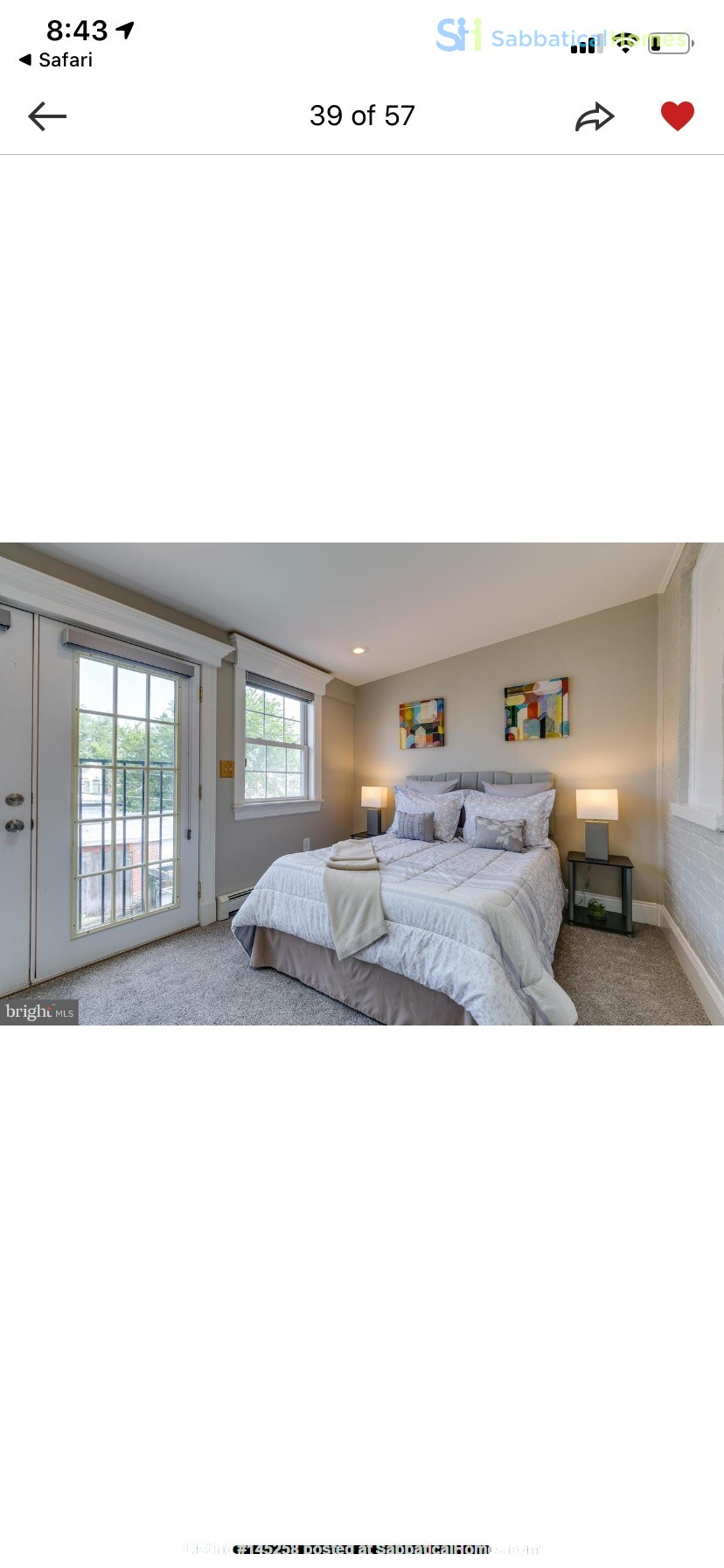 Charming 1919 rowhouse in East Capitol Hill Home Rental in Washington, District of Columbia, United States 7