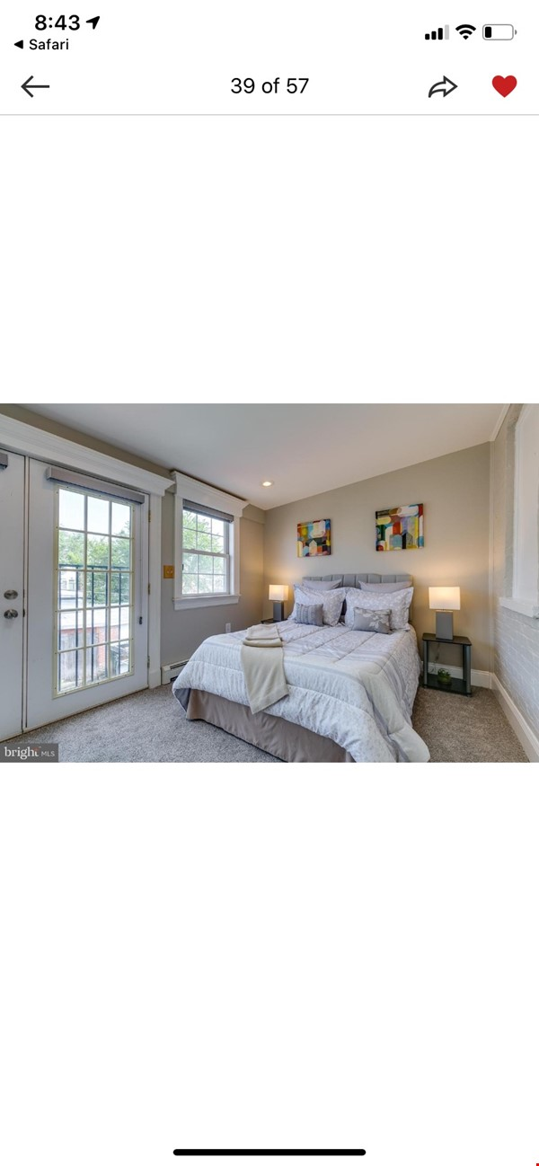 Charming 1919 rowhouse in East Capitol Hill Home Rental in Washington 7 - thumbnail