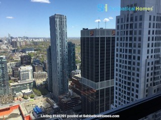 47th floor  with fabulous view Home Rental in Toronto, Ontario, Canada 1