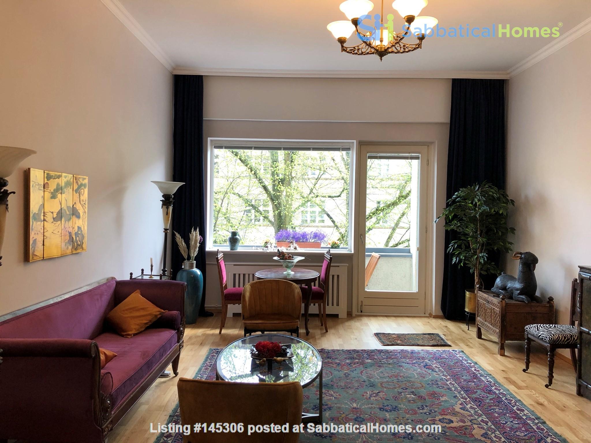 Elegant 1930s apartment in quiet  neighborhood close to Berlin center. Home Rental in Berlin, Berlin, Germany 0