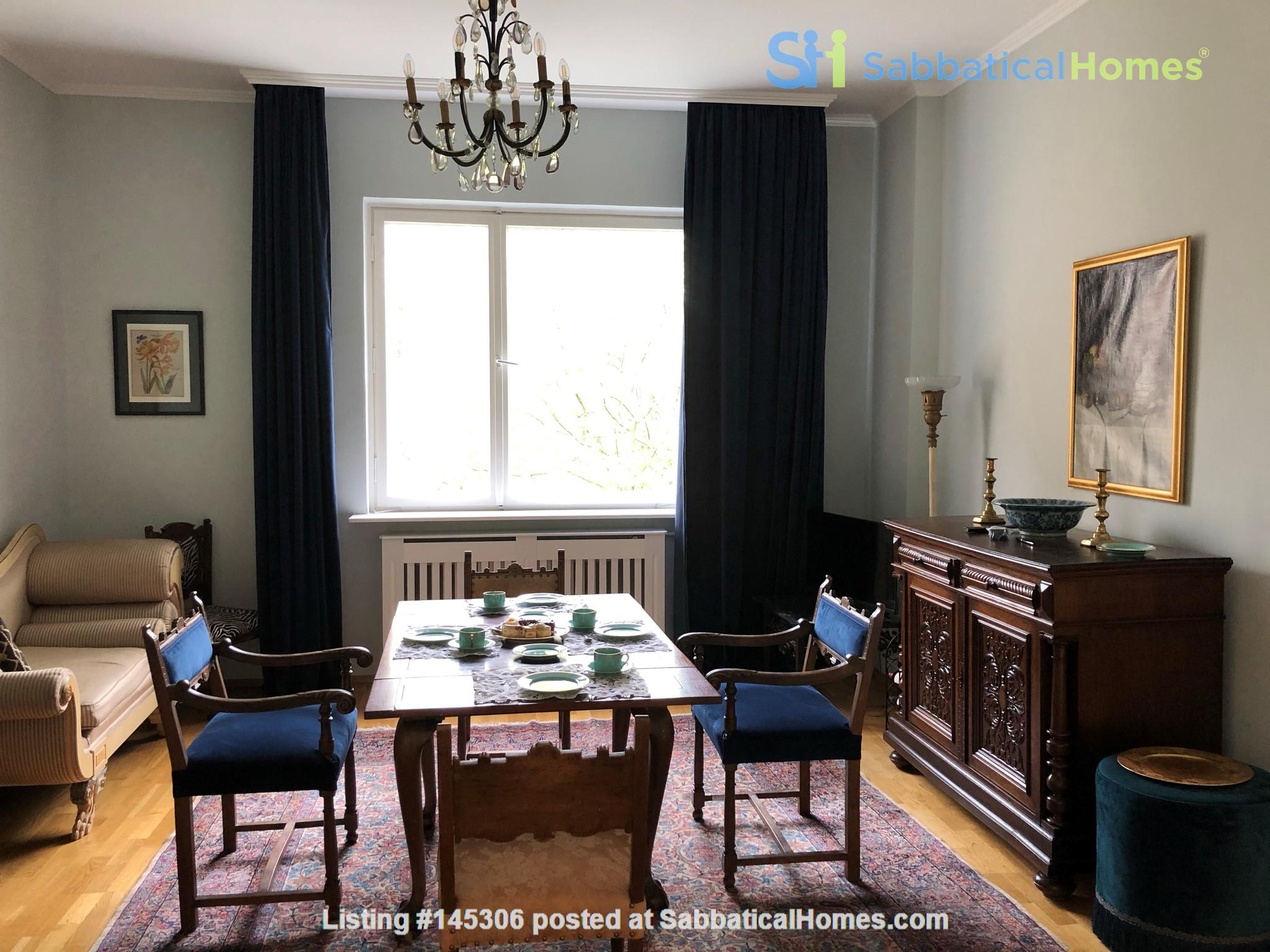 Elegant 1930s apartment in quiet  neighborhood close to Berlin center. Home Rental in Berlin, Berlin, Germany 1