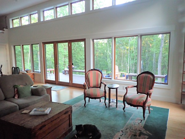 Special mountain home - a short and beautiful drive to Charlottesville Home Rental in Free Union 3 - thumbnail