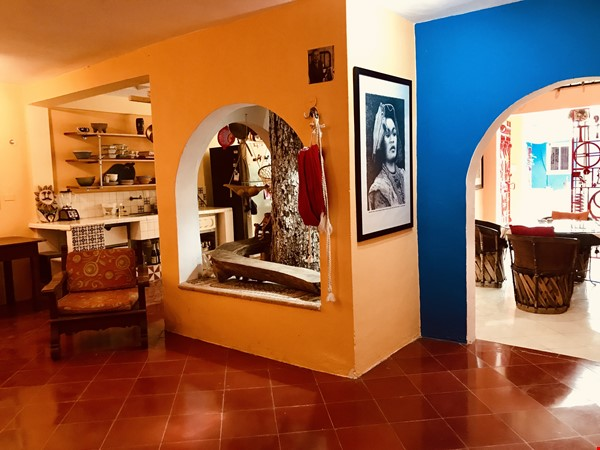 Beautiful Artists' Home and Urban Paradise with Pool in Central Mérida Home Rental in Mérida 4 - thumbnail